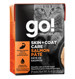 Petcurean GO! Skin & Coat Salmon Pate 6.4OZ - Cat SINGLE