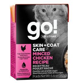 Petcurean GO! Skin & Coat Minced Chicken 6.4OZ - Cat SINGLE