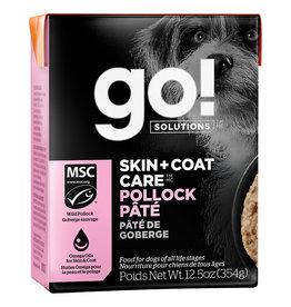 Petcurean GO! Skin & Coat Pollock Pate 12.05oz singles