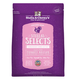 Stella & Chewy's Frozen - Stella Select Turkey 1LB - Cat