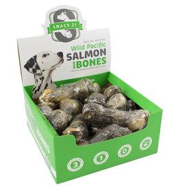 Snack 21 Salmon Skin Bones SINGLES