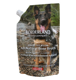 Borderland Food Company Frozen - Grass Fed Bison Bone Broth 591ML
