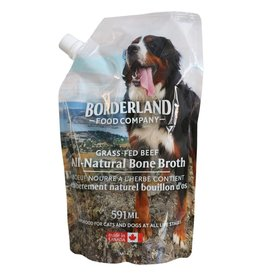 Borderland Food Company Frozen - Grass Fed Beef Bone Broth 591ML