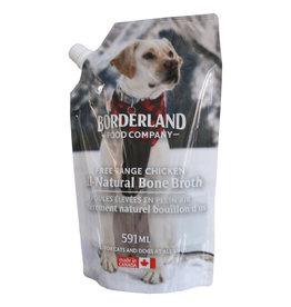 Borderland Food Company Frozen - Free Range Chicken Bone Broth 591ML