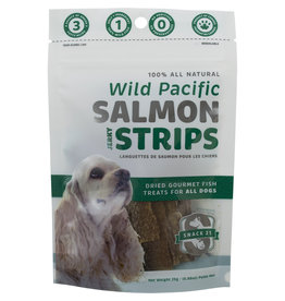 Snack 21 Salmon Jerky Strips 25GM