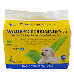 Unleashed Basic Value Housebreaking Pads 100PK