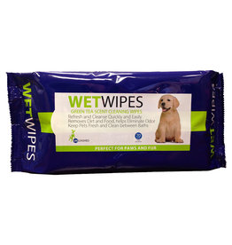 "Unleashed Unleashed Pet Wipes 7x8"" 70PK"
