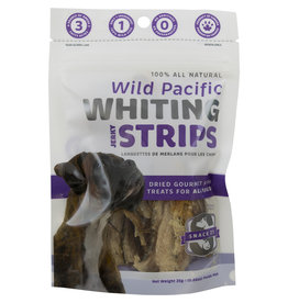Snack 21 Pacific Whiting Jerky Strips 25GM