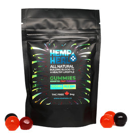 Hemp Heal All-Natural Fruit Flavoured Gummies