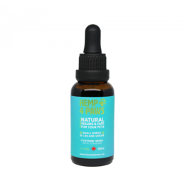 Hemp 4 Paws Hemp Seed Oil Tincture - Pet