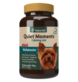 NaturVet Quiet Moments Calming Aid w/ Melatonin