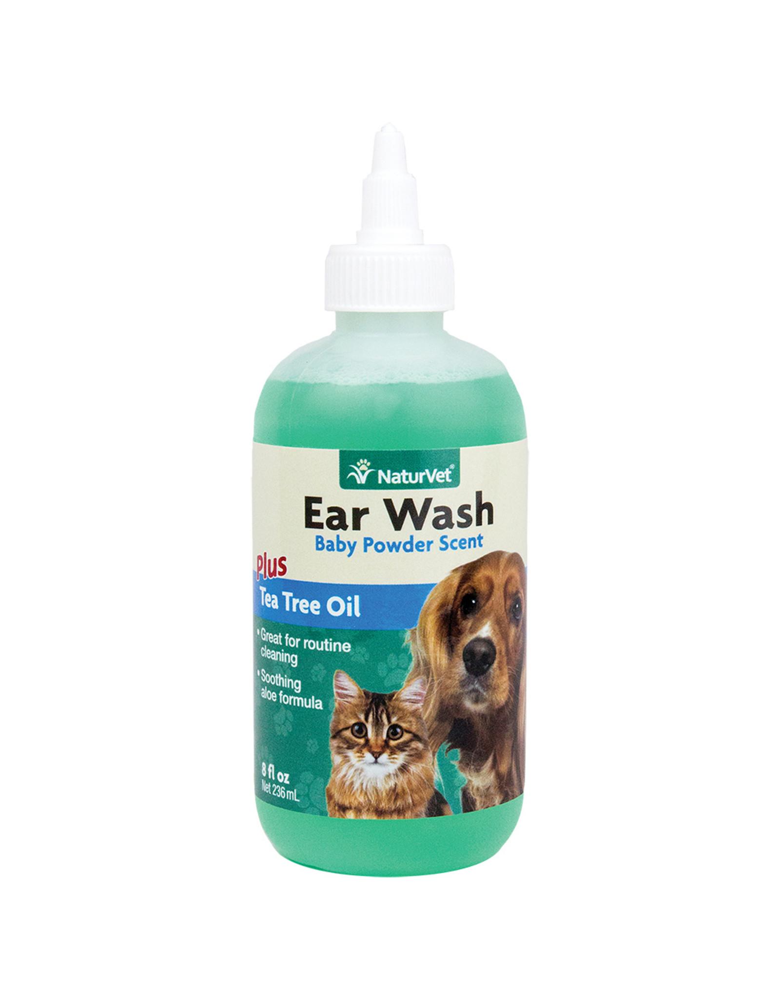 NaturVet Ear Wash Tea Tree Oil