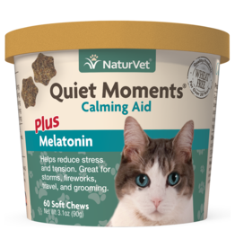 NaturVet Soft Chew Quiet Moments + Melatonin - Cat