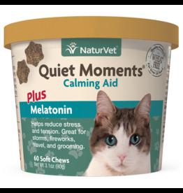 NaturVet Soft Chew Quiet Moments + Melatonin - Cat