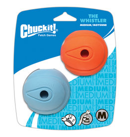 Chuck It! The Whistle Ball Medium 2PK