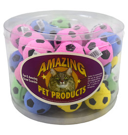 Amazing Pet Products Sponge Soccer Balls SINGLE