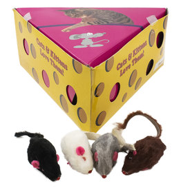 "Amazing Pet Products Fur Mouse in Cheese Box 2"" SINGLE"