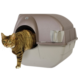 Omega Paw Roll 'N Clean Self Cleaning Litter Box