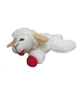 "Multipet Lamb Chop Toy 4"" - Catnip"