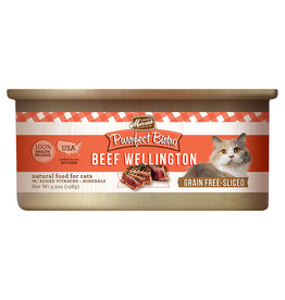 Merrick Beef Wellington Sliced 5.5OZ - Cat SINGLE