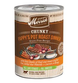 Merrick Chunky Pappy's Pot Roast Dinner 12.7OZ SINGLE