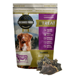 K9 Choice Frozen - Smoked Liver 227GM