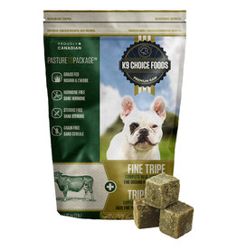 K9 Choice Frozen - Pure Fine Green Tripe 1.36KG