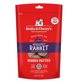 Stella & Chewy's FD Dinner Patties Absolutely Rabbit 14OZ