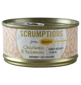 Scrumptious Chicken & Salmon 2.8OZ - Cat SINGLE
