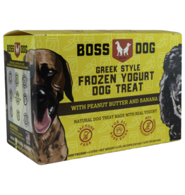 Boss Dog Frozen - Yogurt Peanut Butter & Banana 4PK/104ML