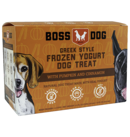Boss Dog Frozen - Yogurt  Pumpkin & Cinnamon  4PK/104