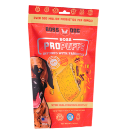 Boss Dog Boss ProPuffs Cheddar & Bacon 170GM SINGLE
