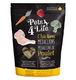 Pets 4 Life Frozen - Raw Chicken 1OZ Medallions 3LB