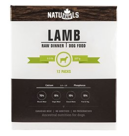 Naturawls Frozen - Raw Lamb & Veggie 12/227GM
