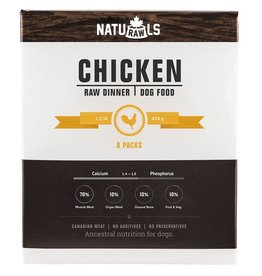 Naturawls Frozen - Raw Chicken & Veggie