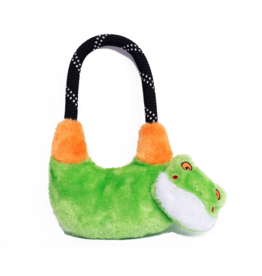 ZippyPaws RopeHangerz Tug Toy Tree frog
