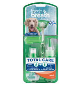 TropiClean Fresh Breath Total Care Brushing Kit