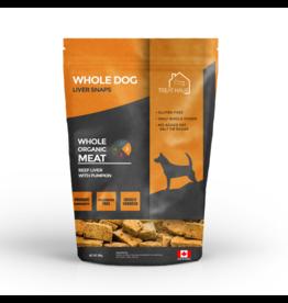 Foley Dog Treat Company WholeDog Liver Snaps Beef Liver w/Pumpkin 380 g