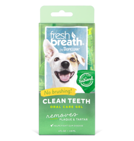TropiClean Fresh Breath Clean Teeth Gel 4 oz
