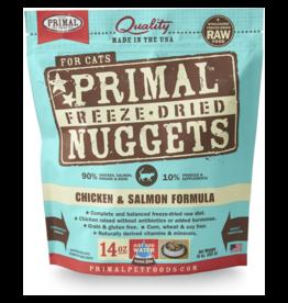 Primal Cat - Freeze Dried Chicken Salmon 14 oz