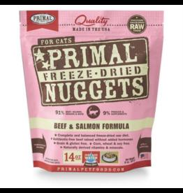 Primal Cat - Freeze Dried Beef Salmon 14 oz