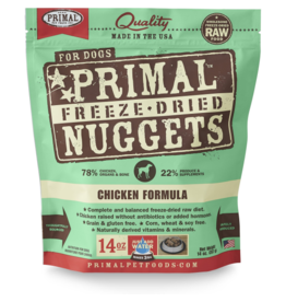 Primal Dog - Freeze Dried Chicken 14 oz