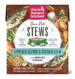 HK Dog Dog One Pot Stews Simmered Salmon & Chicken Stew 10.5 oz SINGLE