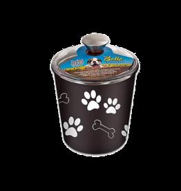 Loving Pets Bella Bowls Canister Espresso