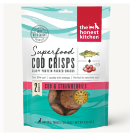 HK Dog Superfood Cod Crisps w/ Strawberry 3 oz