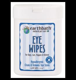 earthbath Eye Wipes Hypo-Allergenic 25 ct