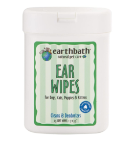 earthbath Ear Wipes - 25 ct