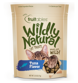 Fruitables Cat Wildly Natural Treats Tuna 71 g