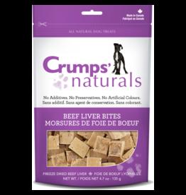 Crumps' Naturals Dog Beef Liver Bites 4.7 oz