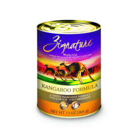 Zignature Dog LID GF Kangaroo 13 oz single